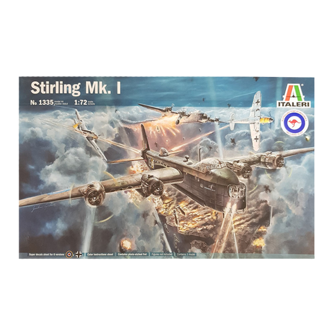 Stirling Mk 1 Short 1:72 - Italeri