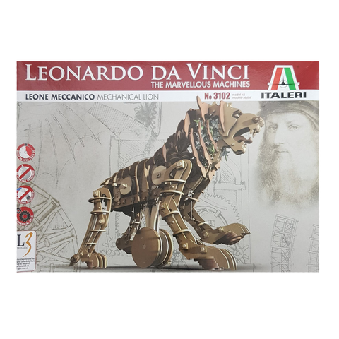 Da Vinci Mechanical Lion - Italeri