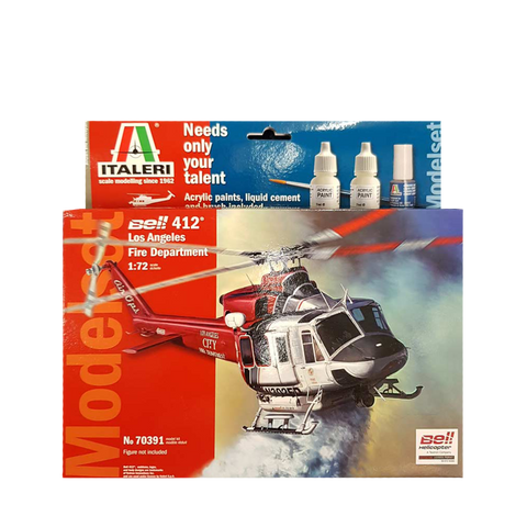 Bell 412 LA Fire Department 1:72 - Italeri
