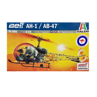 AH-1/AB-47 Bell Helicopter 1:72 - Italeri