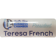 Nametag - Printed and Coated
