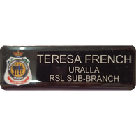 Nametag - Printed and Coated, RSL Standard