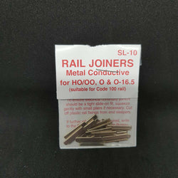 PECO Rail Joiners SL-10 Metal Conductive