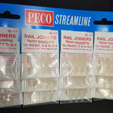 PECO Rail Joiners SL-11 Nylon Insulating