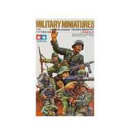 Miliatary Miniatures Assault Troops German 1:35 - Tamiya