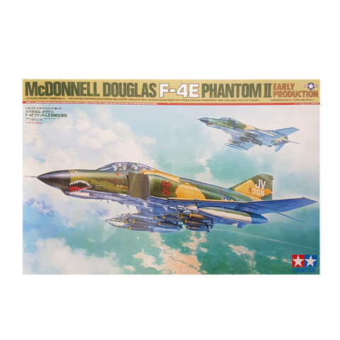 F-4E Phantom II/Early Production 1:32 - Tamiya - AUSSIE DECALS Included