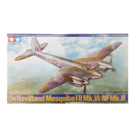 Mosquito FB VI/NF MKII De Havilland 1:48 - Tamiya - AUSSIE DECALS Included