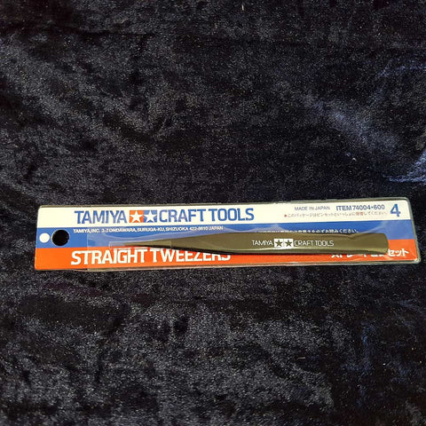 Tweezers, Straight, Tamiya