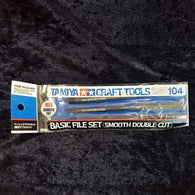 File Set, Basic, (Smooth Double Cut) Tamiya
