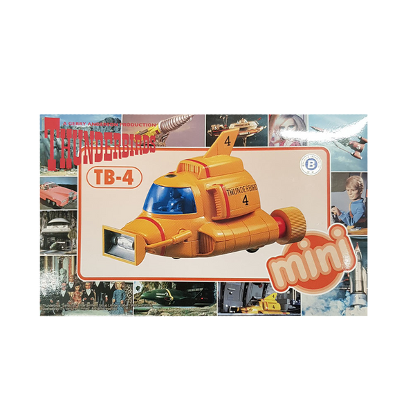 Thunderbird 4 mini - Aoshima (for kids)