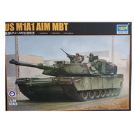 M1A1 ABRAMS MBT 1:16 scale - Trumpeter