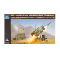 M901 Launching Station & AN/MPQ-53 Radar Set of MIM-104 Patriot SAM System (PAC-2) 1:35 scale - Trumpeter