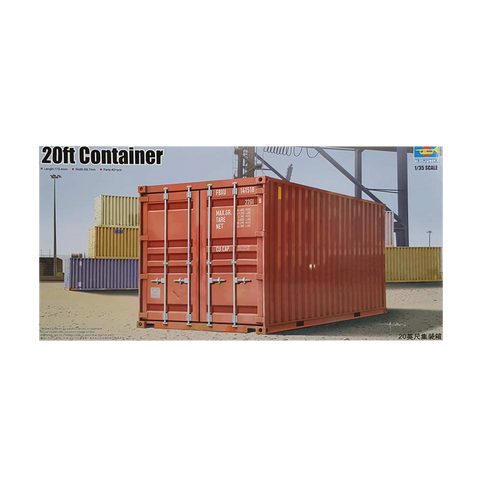 Container 20ft 1:35 scale - Trumpeter