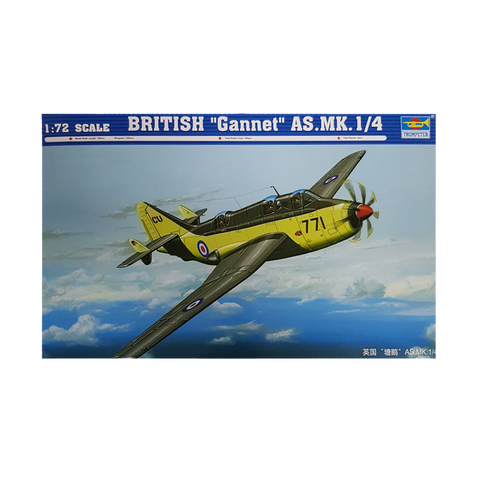 Gannet AS.MK.1/4 British 1:72 - Trumpeter
