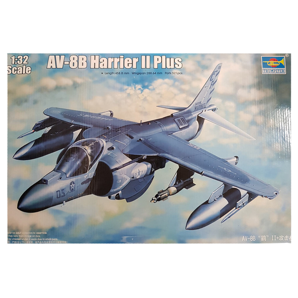 AV-8B Harrier II Plus 1:32 scale - Trumpeter