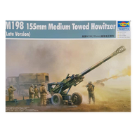 M198 Howitzer (late version) 1:35 scale - Trumpeter plastic model kit