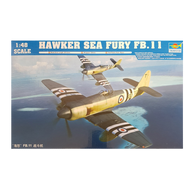 Hawker Sea Fury FBII 1:48 - Trumpeter