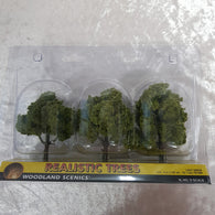Trees, Realistic Light Green 3pk 3-4""