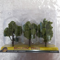 Trees, Realistic Light Green 3pk 4-5""