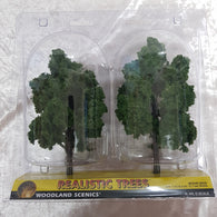 Trees, Realistic Medium Green 2pk 7-8""