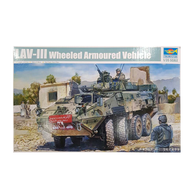 LAV-III 8x8 wheeled armoured vehicle 1:35 scale - Trumpeter