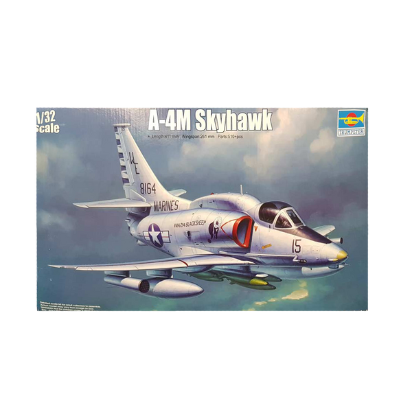 A-4M Skyhawk 1:32 - Trumpeter plastic model kit | Defence Model Supplies