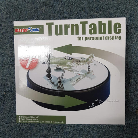 "Turntable 182mm 7"" with display mirror"