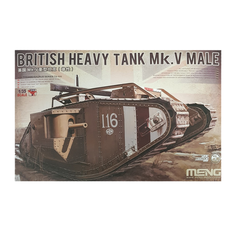Mark V Male British Tank 1:35 - Meng