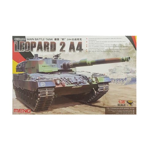 MBT Leopard 2 German A4 - Meng