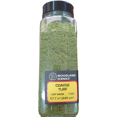 Turf (Bottle), Light Green, Coarse