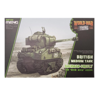 WWToons Medium Tank Sherman-Firefly British - Meng