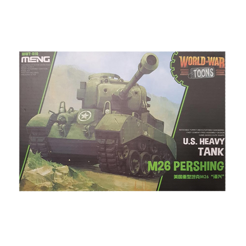 WWToons Heavy Tank M-26 Pershing US - Meng
