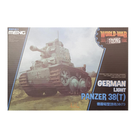 WWToons Light Tank Panzer 38T German - Meng