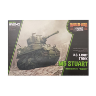 WWToons Light Tank M5 Stuart US - Meng