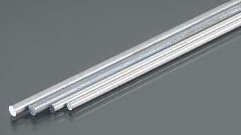 "Aluminium Bendable Rod K&S 5070 3/32 and 1/8 x 12"" (2 of each)"