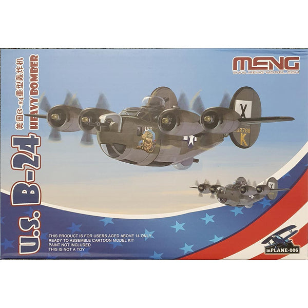 B-24 Liberator Bomber (for kids) - Meng Kids