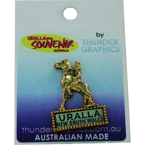 Hat Pin Captain Thunderbolt Uralla Souvenir