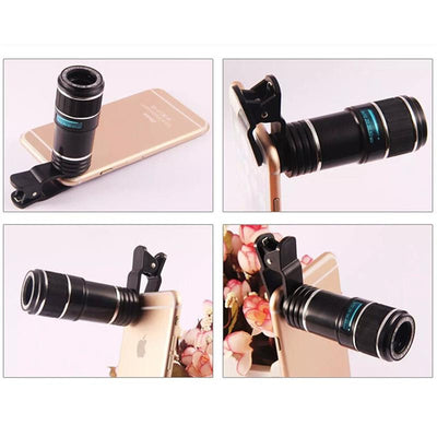 12x Zoom Telescopic Lens
