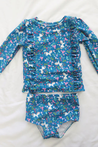 Long Sleeve Rash Guard set 3T-5T