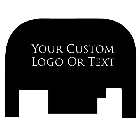 Glock 17-41 Backplate Engraved - Your Custom Option