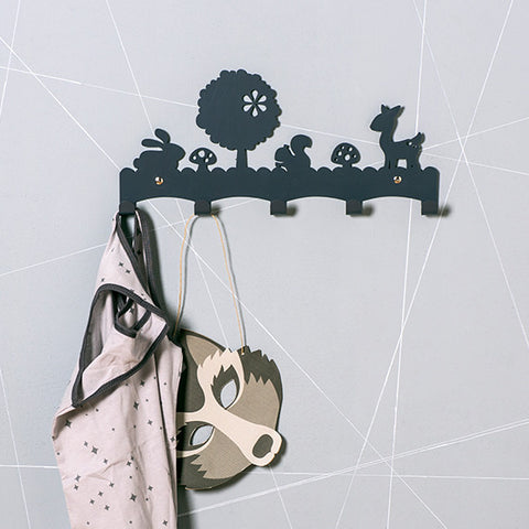 Woodland coat rack