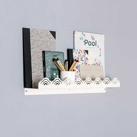 Stylish wall shelf