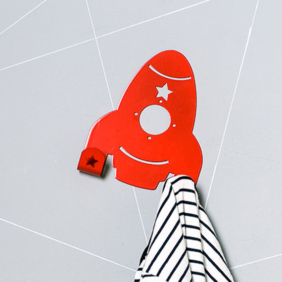 Spaceship wall hook