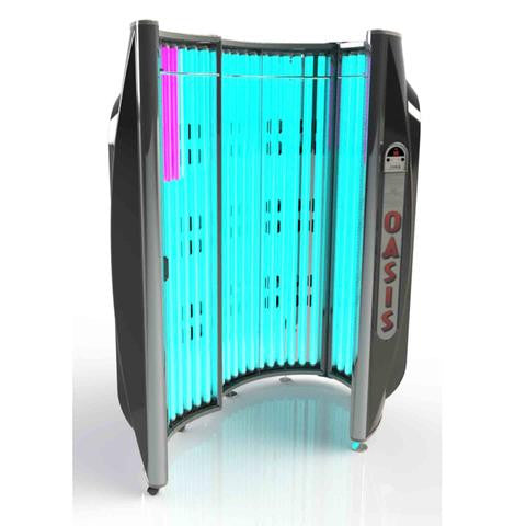 ESB Oasis 36 Bulbs Home Tanning Stand Up Booth for Residential Tanning bed use