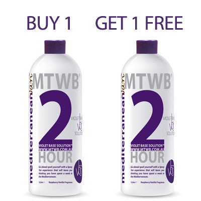 Mediterranean Tan 2 HOUR Light - VBS - BUY 1 GET 1 FREE