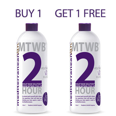 Mediterranean Tan 2 HOUR Medium - VBS - BUY 1 GET 1 FREE
