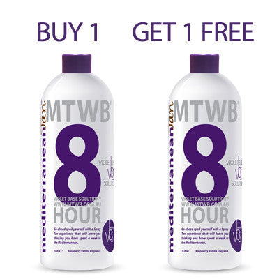 Mediterranean Tan 8 HOUR Medium - VBS - BUY 1 GET 1 FREE