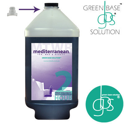 Mediterranean Tan High Viscosity 2 HOUR Booth Solution GBS