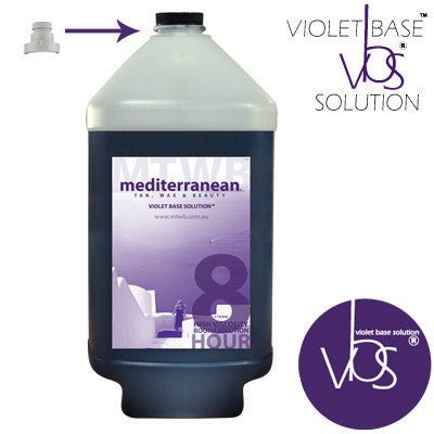 Mediterranean Tan High Viscosity 8 HOUR Booth Solution VBS