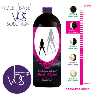 Mediterranean Tan Black Shadow 1 HOUR Dark Level 2 - VBS